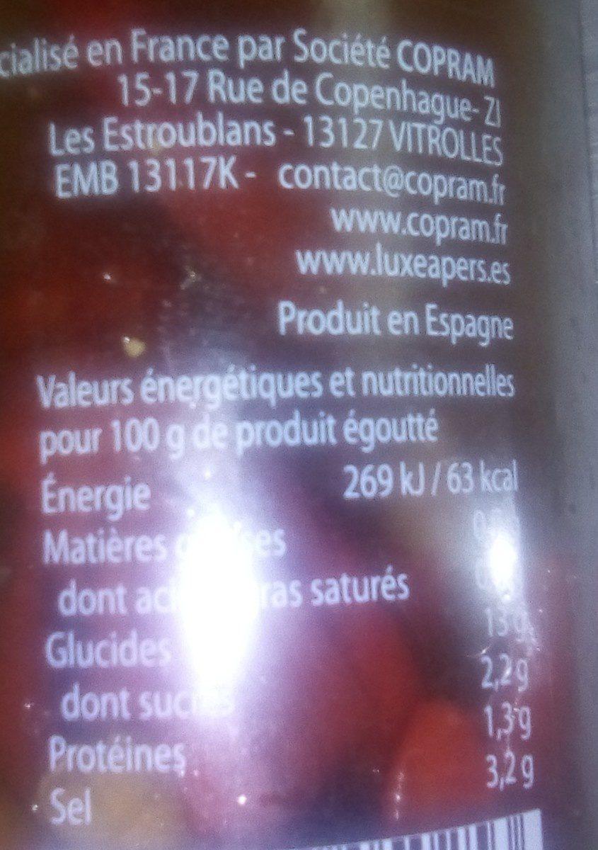 Piments piri piri - Ingrediënten - fr