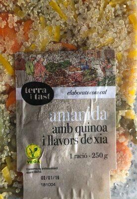 Amanida amb quinoa i llavors de xia