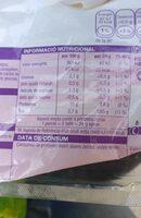 Pit d'indiot - Nutrition facts