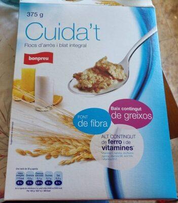 Cuida't flocs d'arros i blat integral - Product - ca