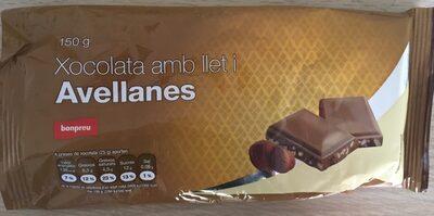 Xocolata amb llet amb avellanes - Producto - es