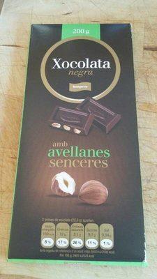 Chocolate negro - Producte