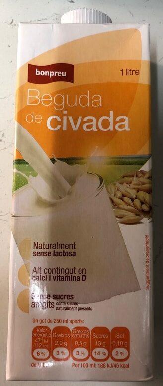 Beguda de civada - Producte - ca