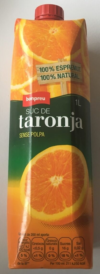 Suc de taronja - Producto - es
