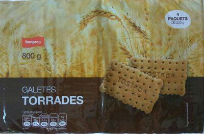 GALETES TORRADES BONPREU - Producto