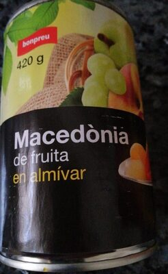 Macedònia de fruita en almívar - Produit - es