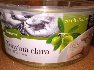 Tonyina clara en oli d'oliva - Producto