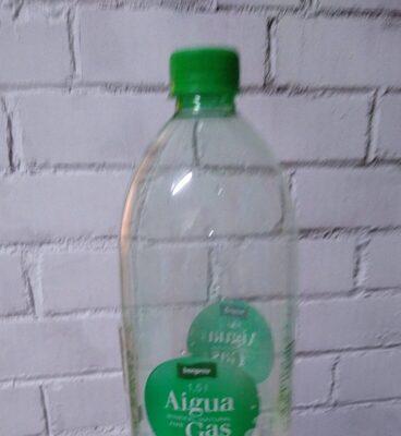 Aigua mineral natural amb gas - Producto - es