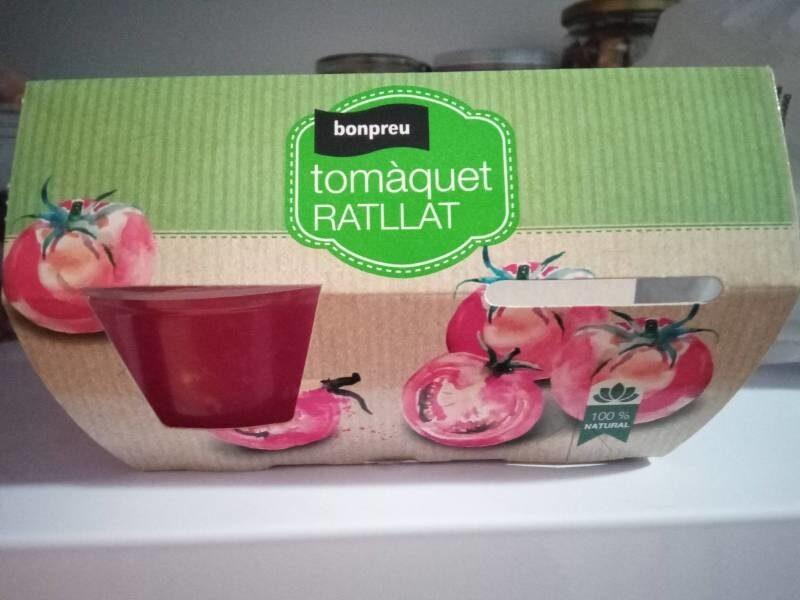 Tomaquet rallat Bonpreu - Producte