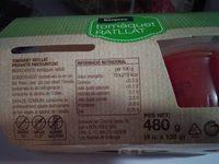 Tomaquet rallat - Información nutricional