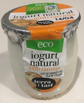 iogurt natural amb taronja - Producte