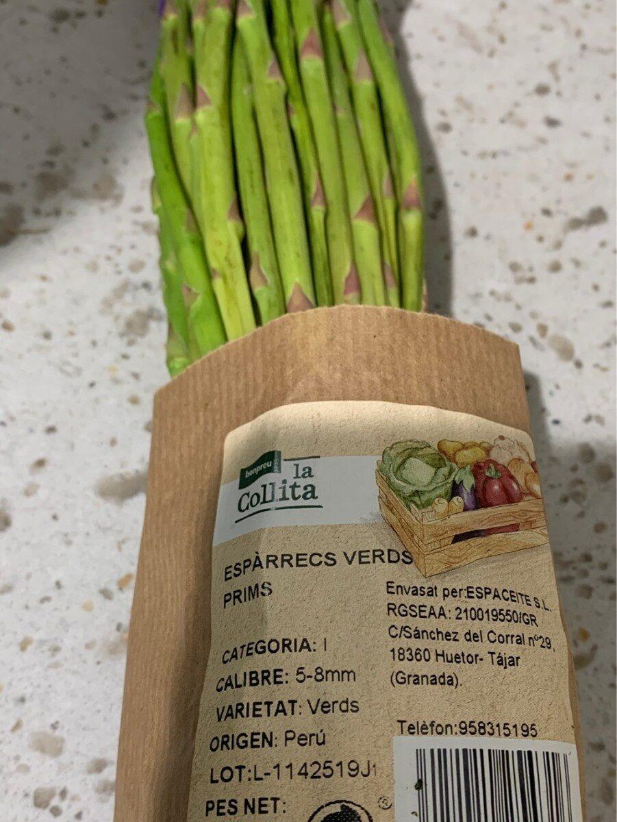 Esparrago verde - Produit