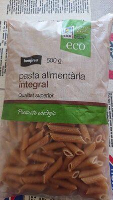 Pasta alimentaria integral