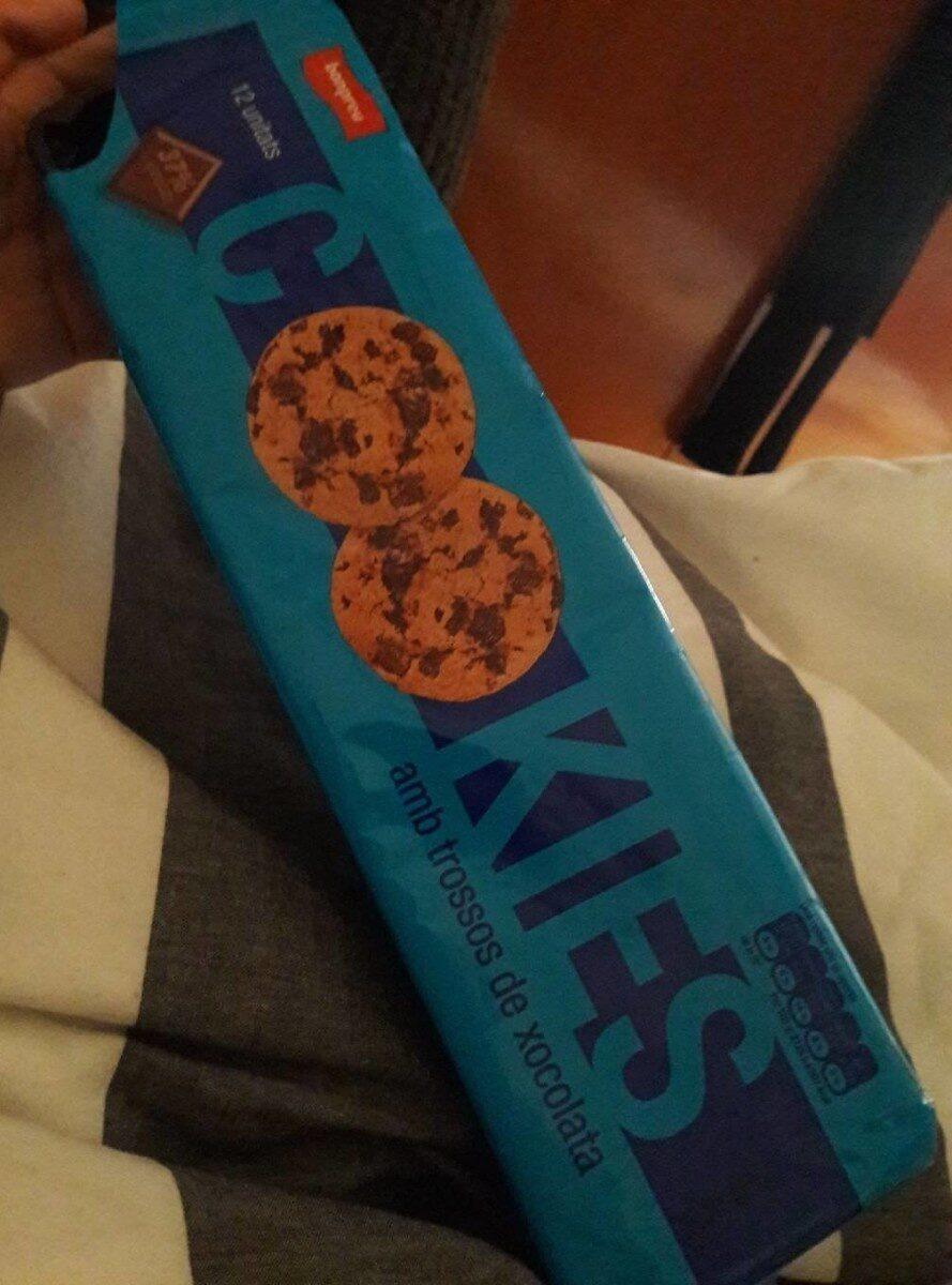 Cookies amb trossos de xocolata - Product