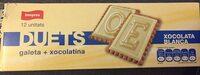 Duets de xocolata blanca - Product - ca