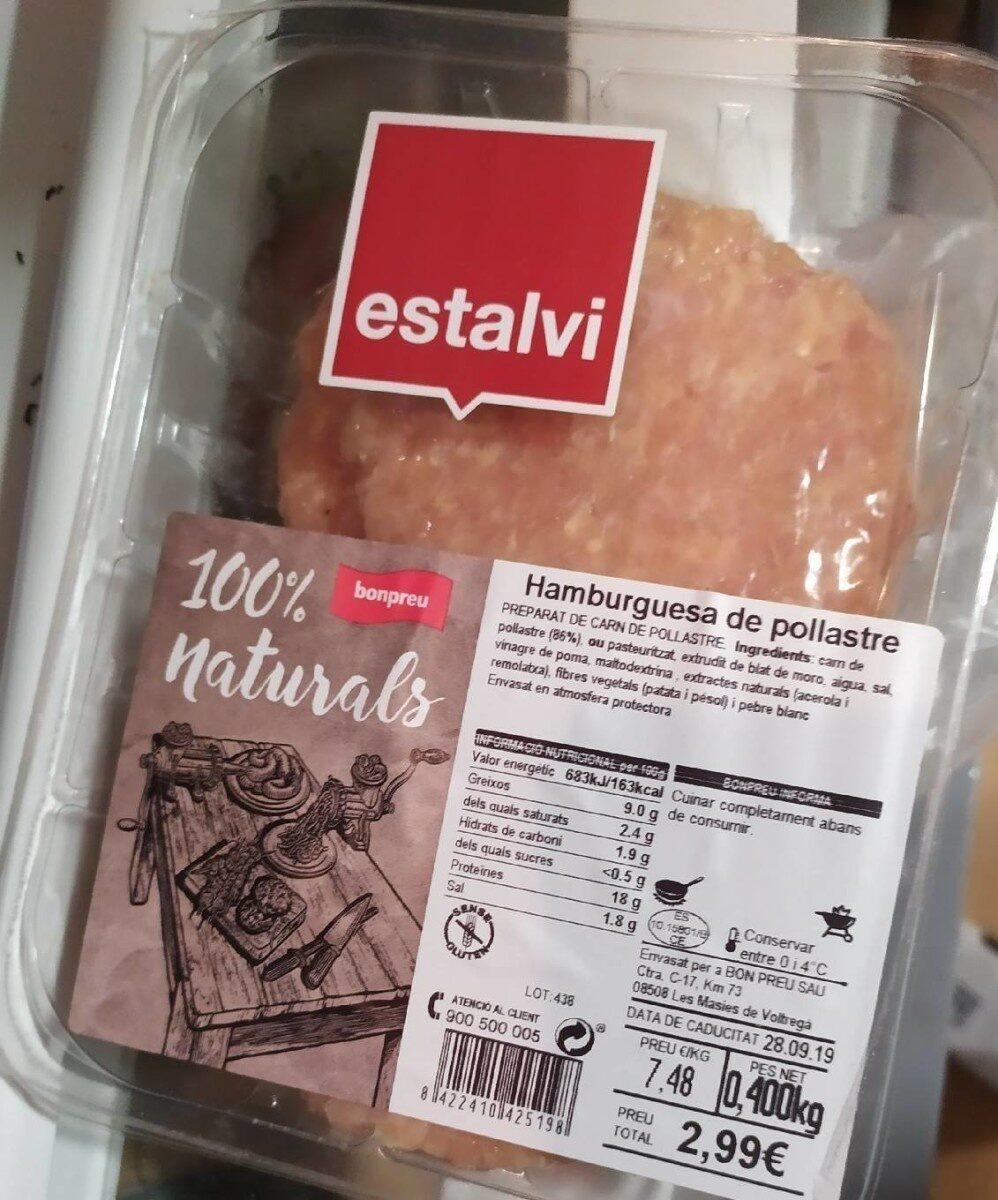 Hamburguesas pollo - Product - es