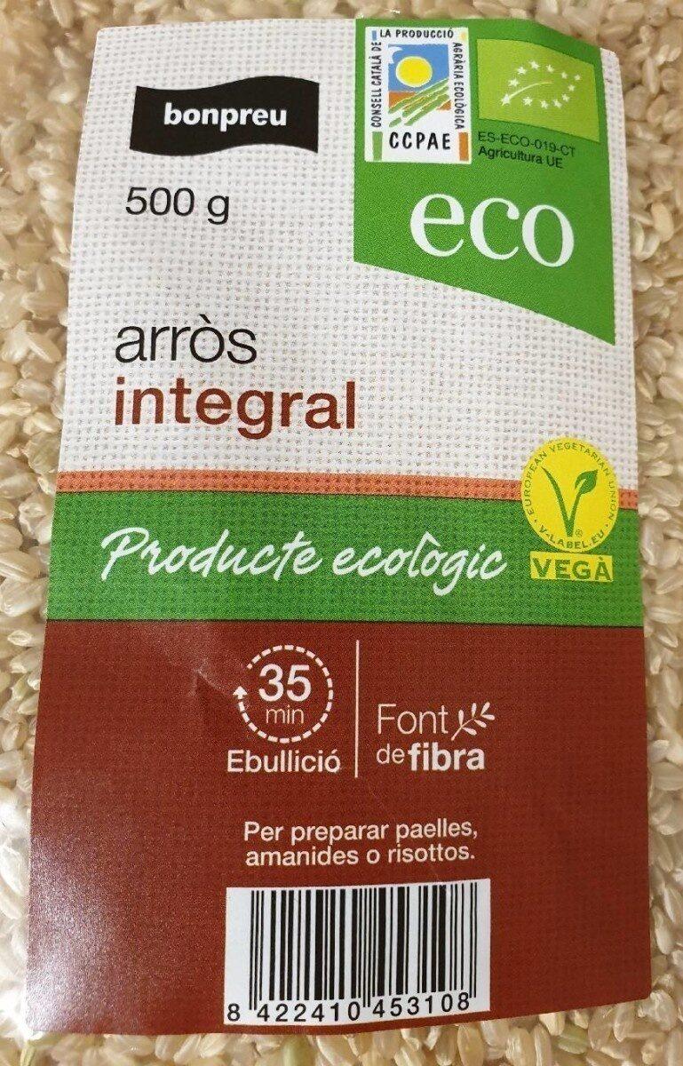arròs integral - Producte - es