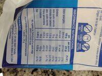 Mozzarella - Información nutricional