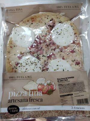 Pizza fresca de formatge de cabra i baco - Product