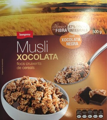 Musli xocolata - Producto - es