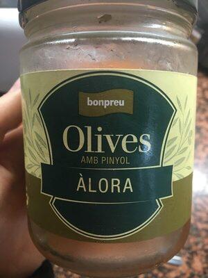 Olives amb pinyol àlora - Producte - es