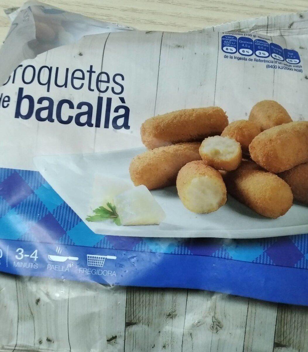 Croquetes de bacallà - Product - es