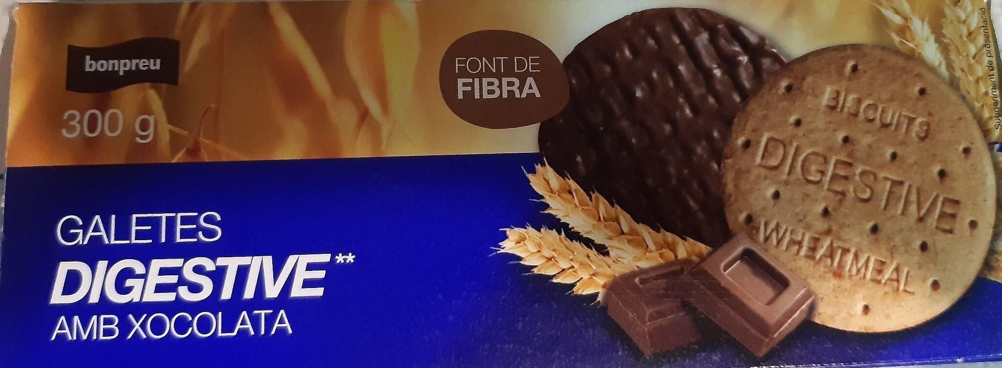 Galletas digestive con chocolate - Product - es