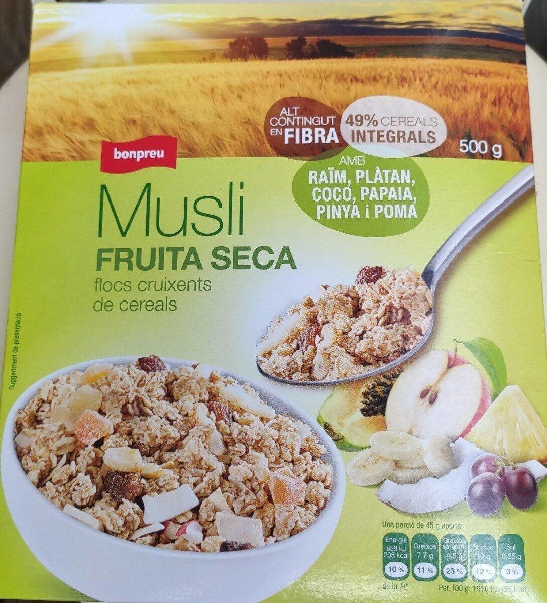 Musli fruita seca - Producte - ca