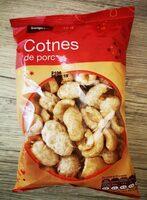 Cotnes de porc - Produit - fr