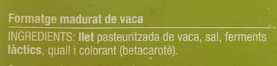 Gouda light - Ingrediënten - ca