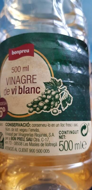 Vinagre de vi blanc - Product - en