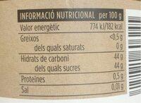 Melmelada de préssec - Nutrition facts - ca