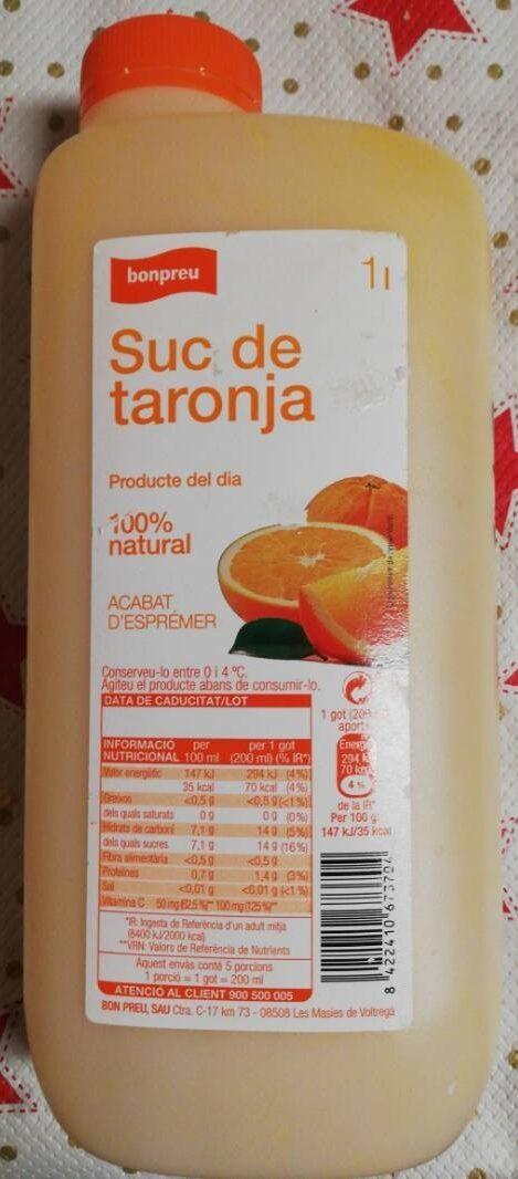 Suc de taronja - Product