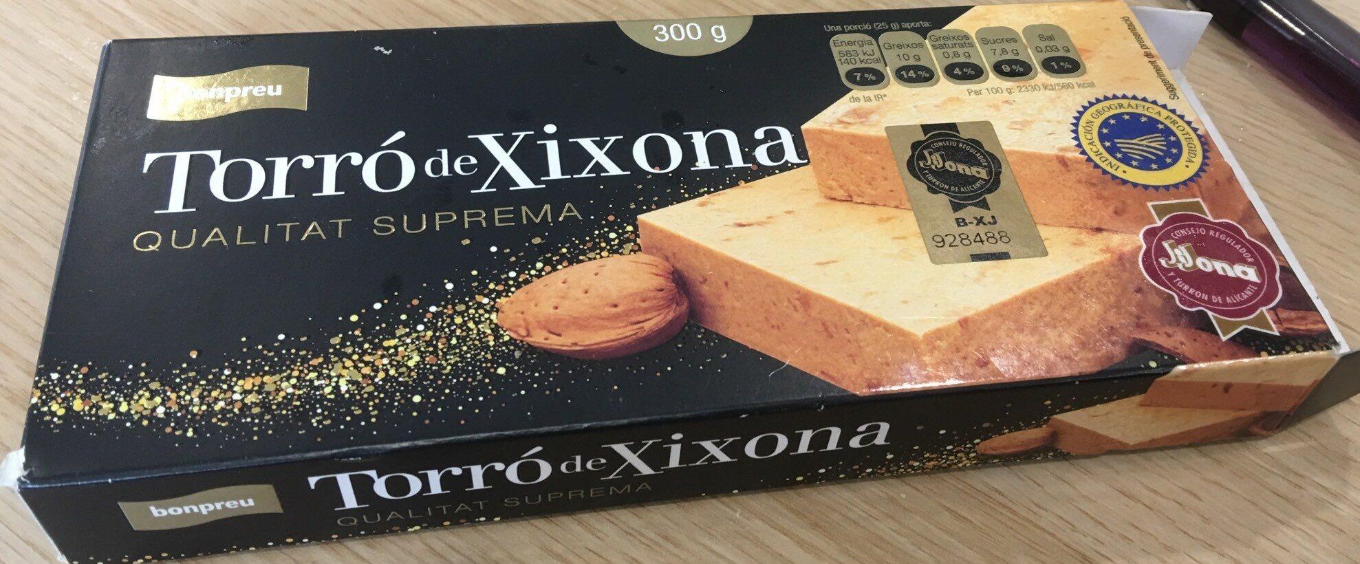 Torro de Xixona - Producto - ca