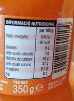 Mermelada de melocotón - Ingrediënten - es