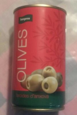 Olives farcides d'anxova - Product - ca
