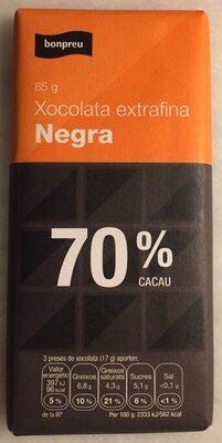 Xocolata extrafina Negra - Producto