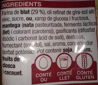 Sobaos - Ingredients