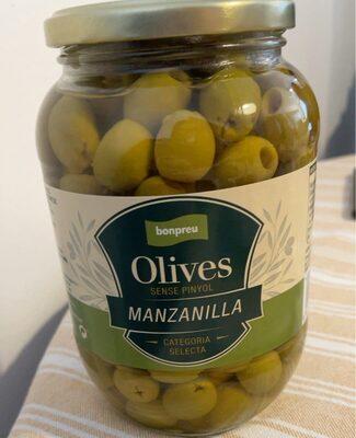 Olives sense pinyol manzanilla - Producte - es