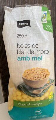 Boles de blat de moro amb mel - Product - es