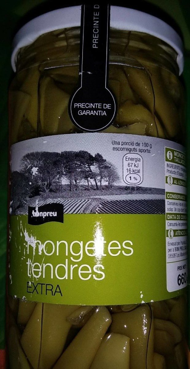 Haricots verts tendres - Producte