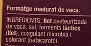 Gouda Sense Lactosa - Ingrediënten - ca