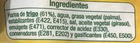 8 Tortitas De Trigo - Ingredients