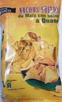 Nachos Fritos de Maíz con sabor a queso - Producto - es