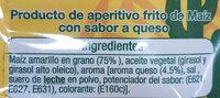 Nachos Fritos de Maíz con sabor a queso - Ingredientes - es