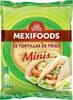 8 Tortillas de trigo minis - Prodotto