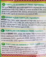 tortilla - Ingredientes