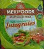 8 tortillas de trigo integrales - Produto