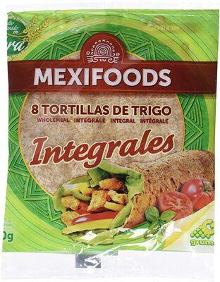 8 tortillas de trigo integrales - Produit - fr