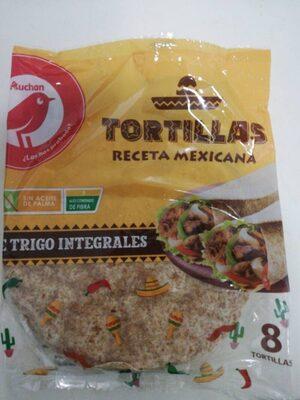 Tortillas de trigo integrales